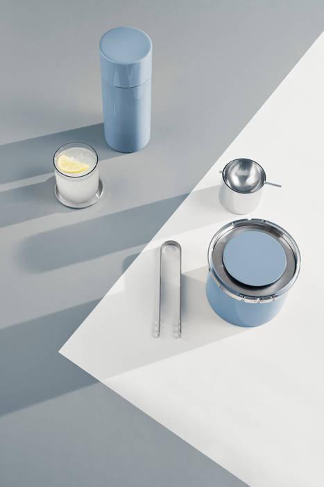 Cinzeiro Arne Jacobsen Ø7,5Cm Prateado - Stelton por In & Out Cooking Minimalista