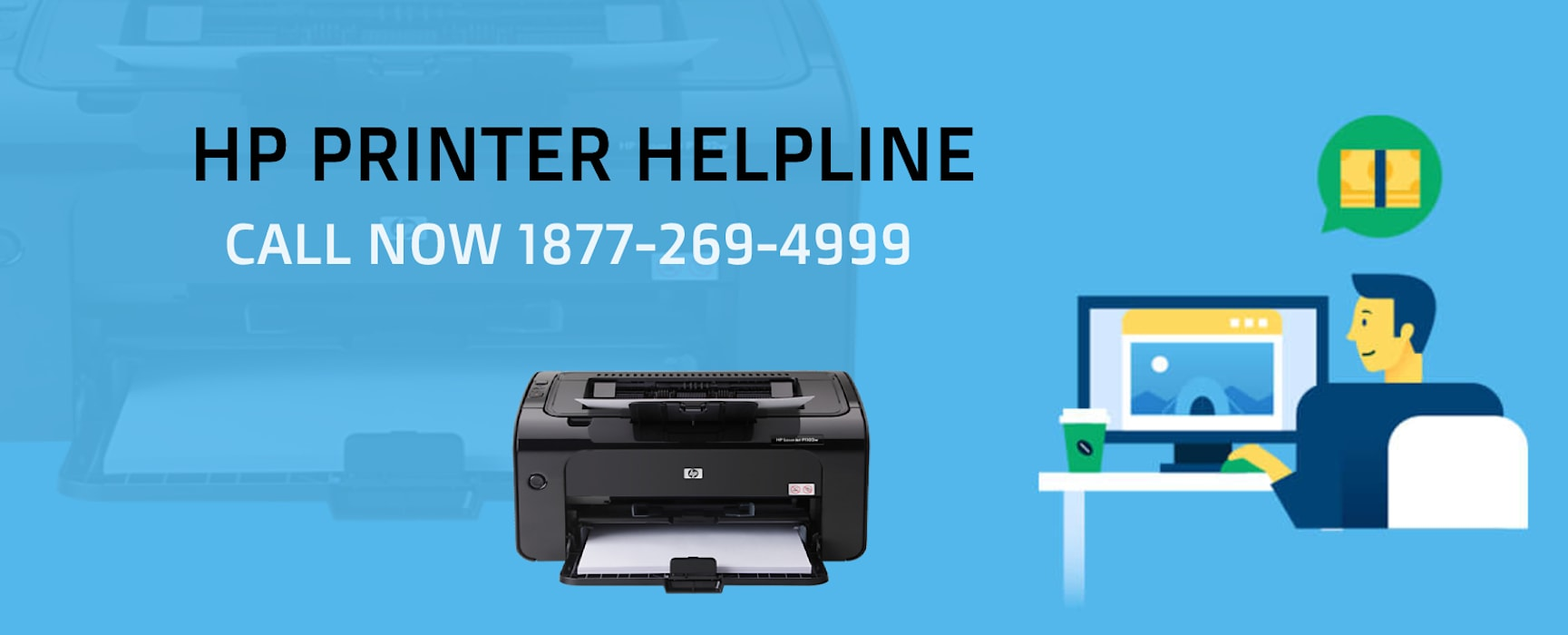Офисы и магазины в стиле кантри от HP Printer Customer Care Number 1877-269-4999 Кантри Алюминий / Цинк