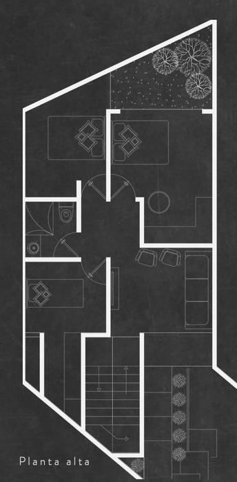 Minimalistische Garagen & Schuppen von Concepto Arquitectura Minimalistisch