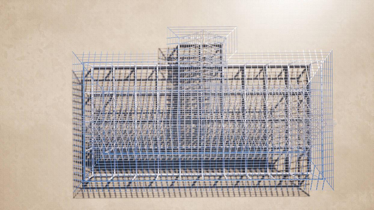งานโครงหลังคาเหล็ก รับเขียนแบบบ้าน&ออกแบบบ้าน วิลล่า