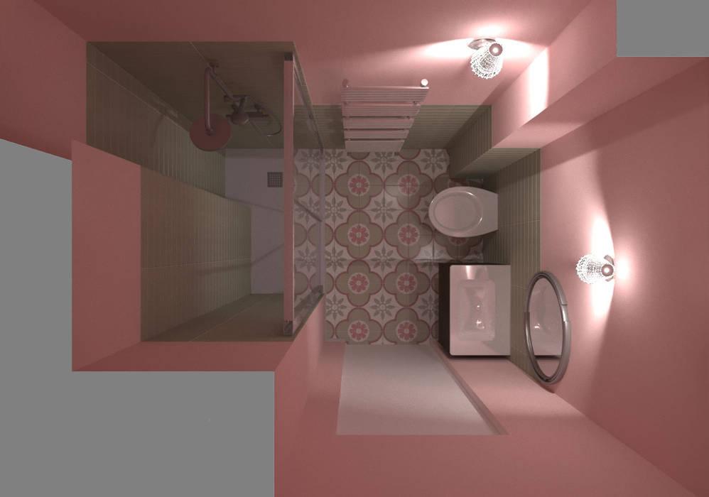 Dimensione Edilizia Baños de estilo moderno
