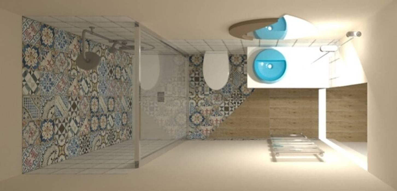 I giusti sanitari e box doccia Dimensione Edilizia Bagno moderno