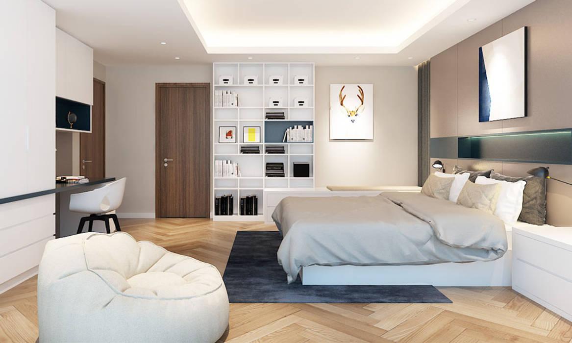 CÔNG TY THIẾT KẾ NHÀ ĐẸP SANG TRỌNG CEEB Modern Bedroom