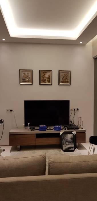 HOUSE MR.J KIRANA Ruang Keluarga Modern Oleh qic arsitek Modern