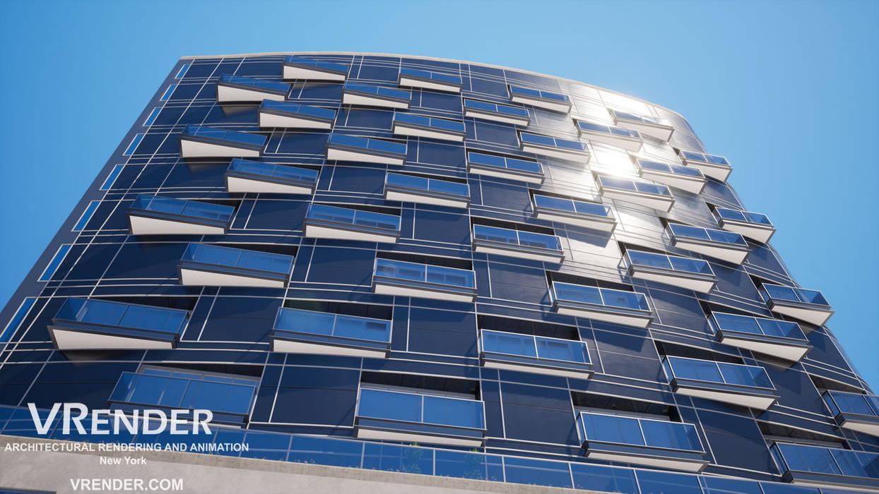 Architectural Rendering Moderne hotels van Vrender.com Modern