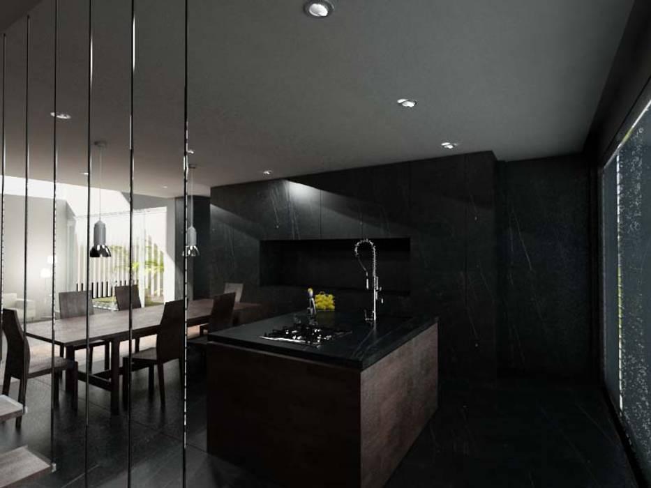 Oleh rem-studio Modern Aluminium/Seng