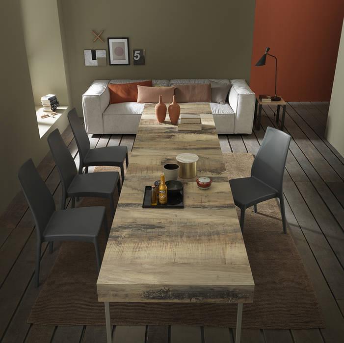 Ruang Makan Modern Oleh Mobili a Colori Modern Kayu Wood effect