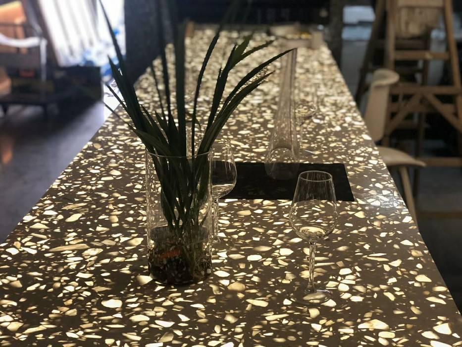 Countertop Backlit Modern Dining Room by MAX Illumination Modern Quartz