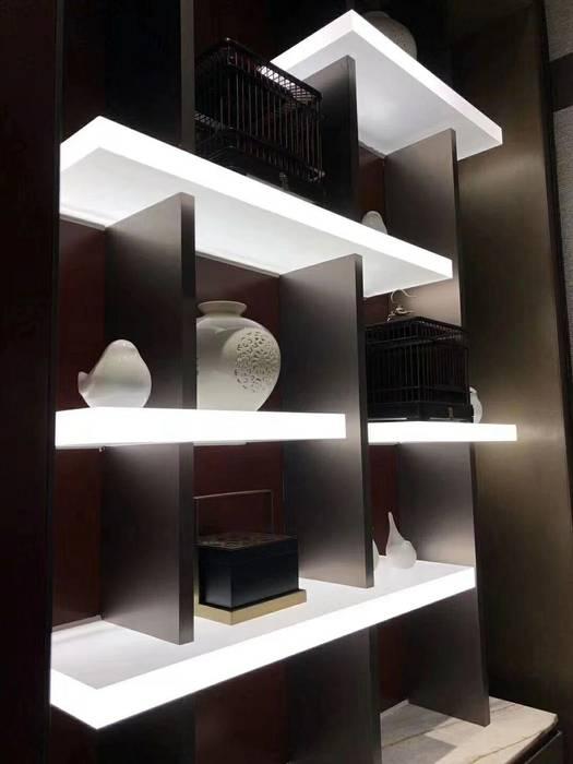Display Shelf LED Panel Modern Home Wine Cellar by MAX Illumination Modern