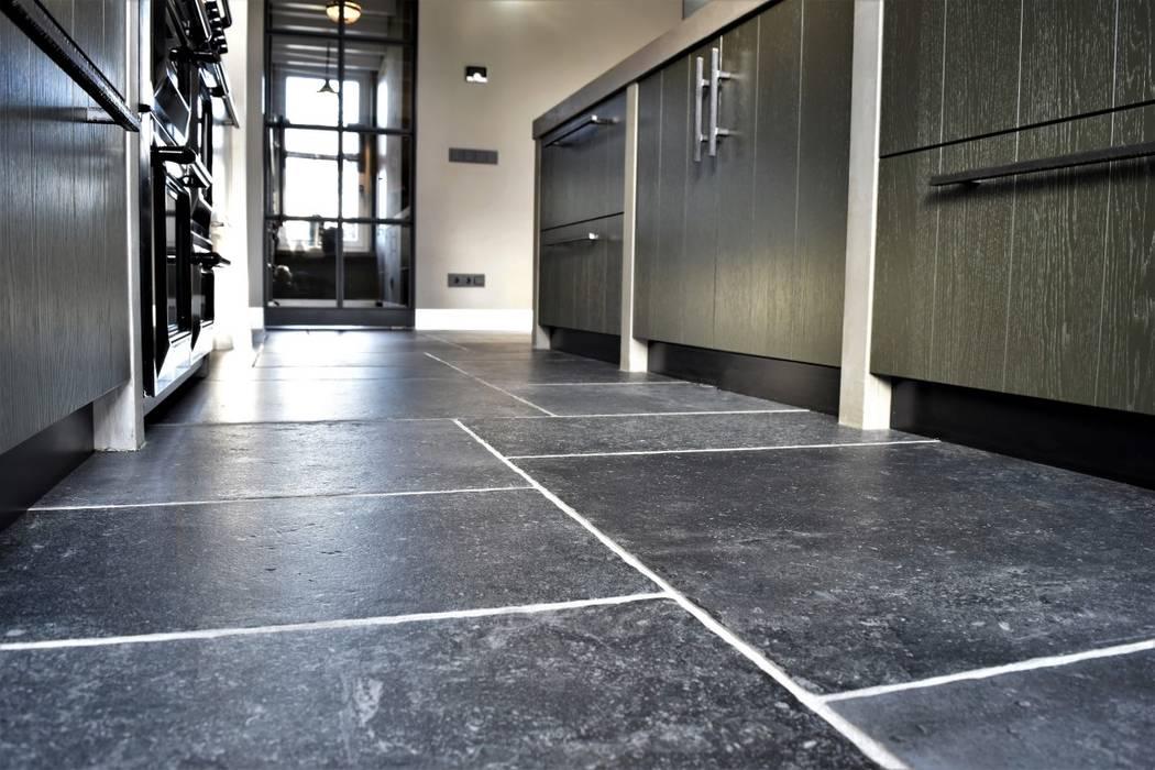 Castle Stones imitation Steenbergen Wand- en vloertegels Floors Bricks Grey