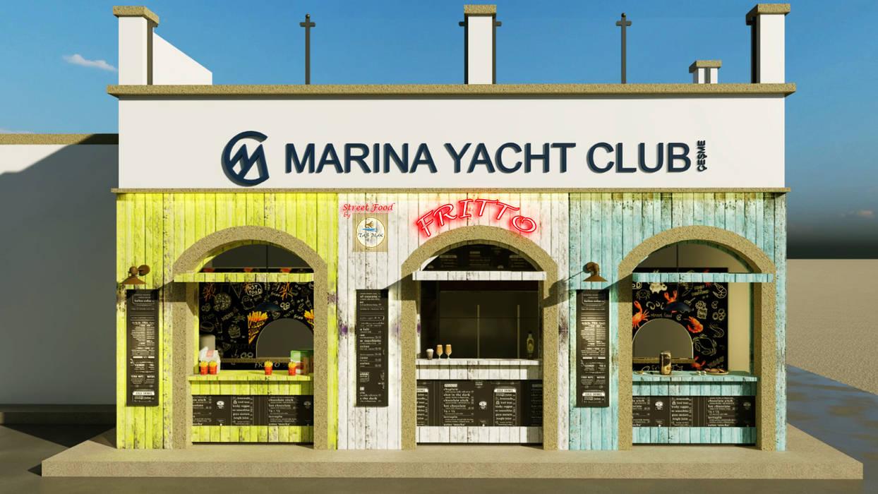 Marina Cafe ANTE MİMARLIK Yeme & İçme