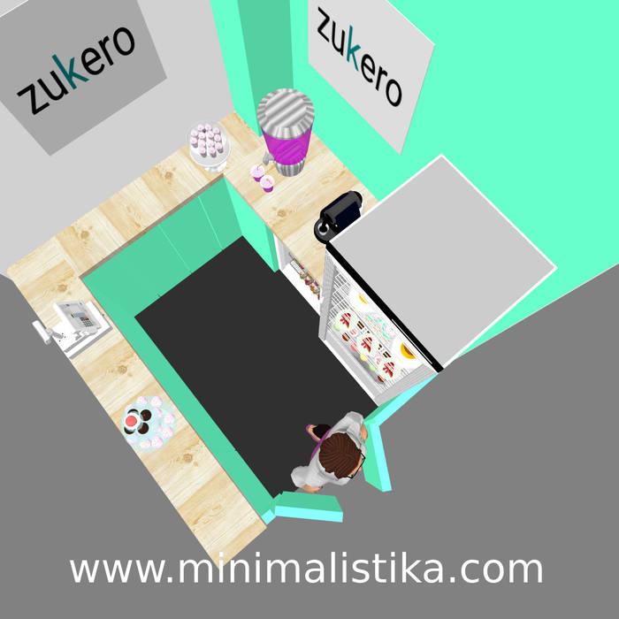 Minimalistika.com Gastronomy Chipboard Turquoise