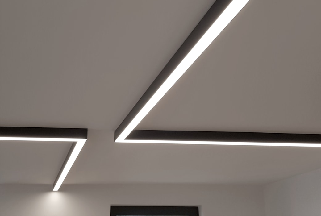 Allgemeinbeleuchtung LED-Profile Moderne Küchen von Sandra Klösges Modern