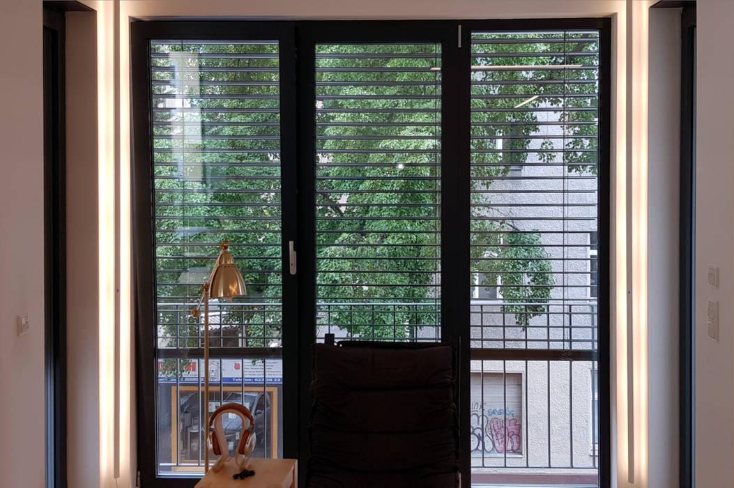 Erkerbeleuchtung Moderne Wohnzimmer von Sandra Klösges Modern
