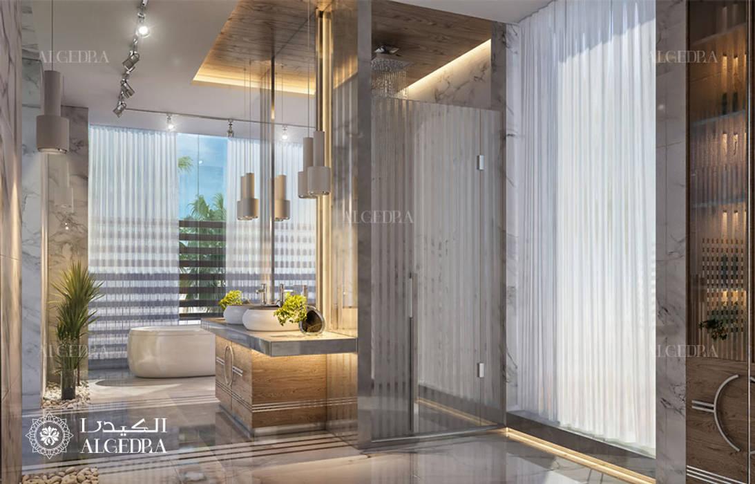 Contemporary Deluxe Villa Bathroom Design Modern Bathroom By Algedra Interior Design Modern Homify