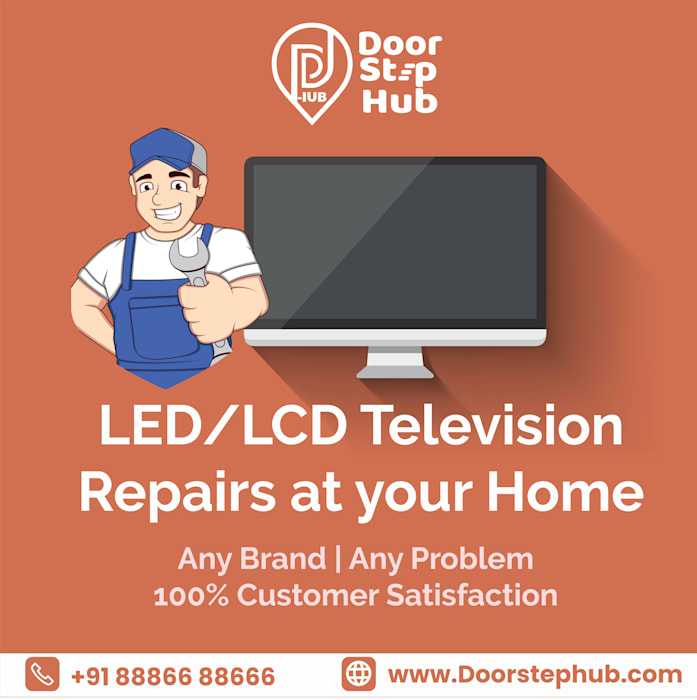 Nearby TV repair services in Bangalore | LED TV Repair service in Bangalore - DoorStepHub Doorstep Hub Living roomTV stands & cabinets
