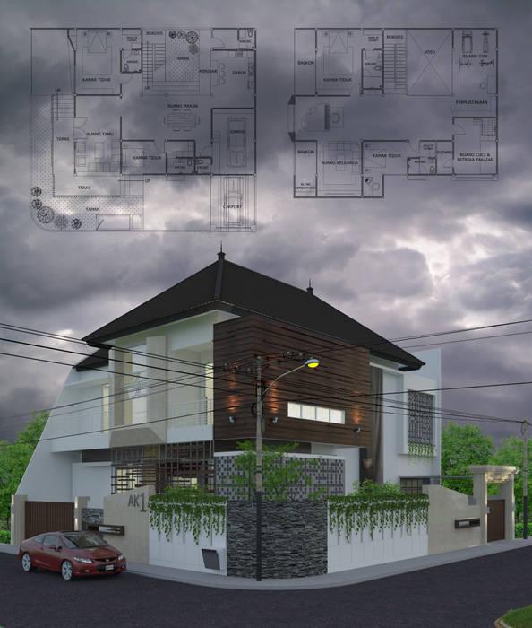 perspektif 2 ARK-chitect studio Rumah Tropis