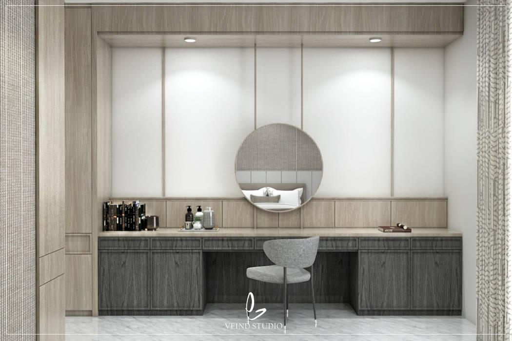 Bedroom Oleh Veind Studio Modern Kayu Buatan Transparent