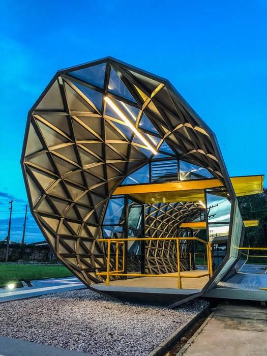 Industrial style houses by L+A Arquitetura de iluminação Industrial