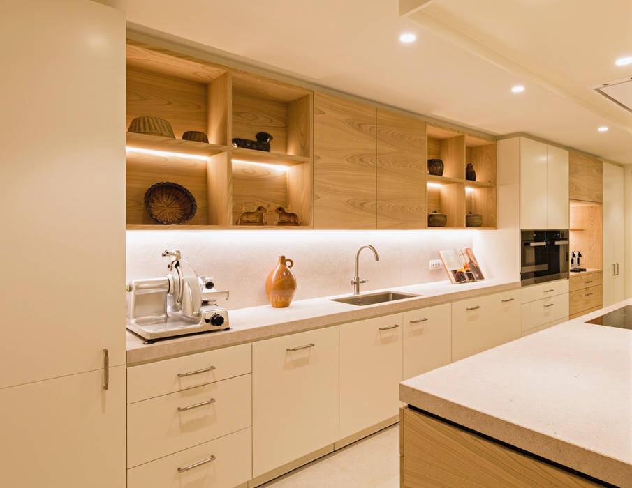 Modern Kitchen by ÈMCÉ interior architecture Modern Wood Wood effect