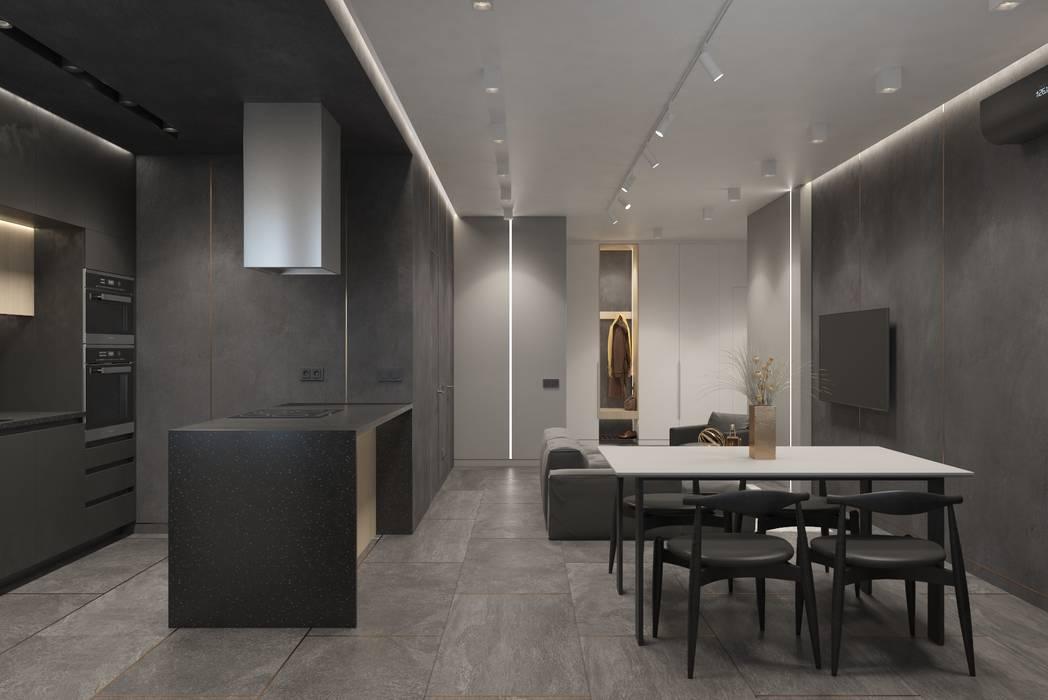 Бюро 25 | Дизайн интерьера | Архитектура | Краснодар Eklektyczny salon
