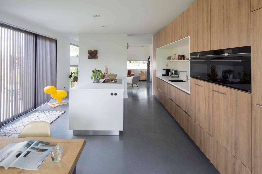 Joris Verhoeven Architectuur Kitchen units Concrete Grey
