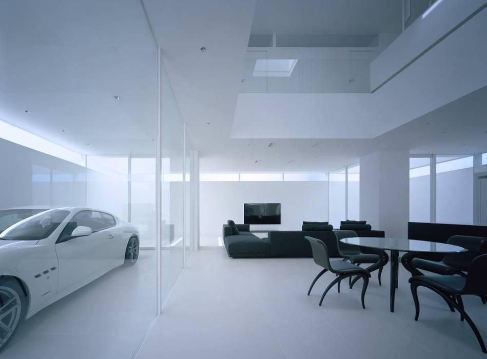 Moderne Wohnzimmer von 藤原・室 建築設計事務所 Modern