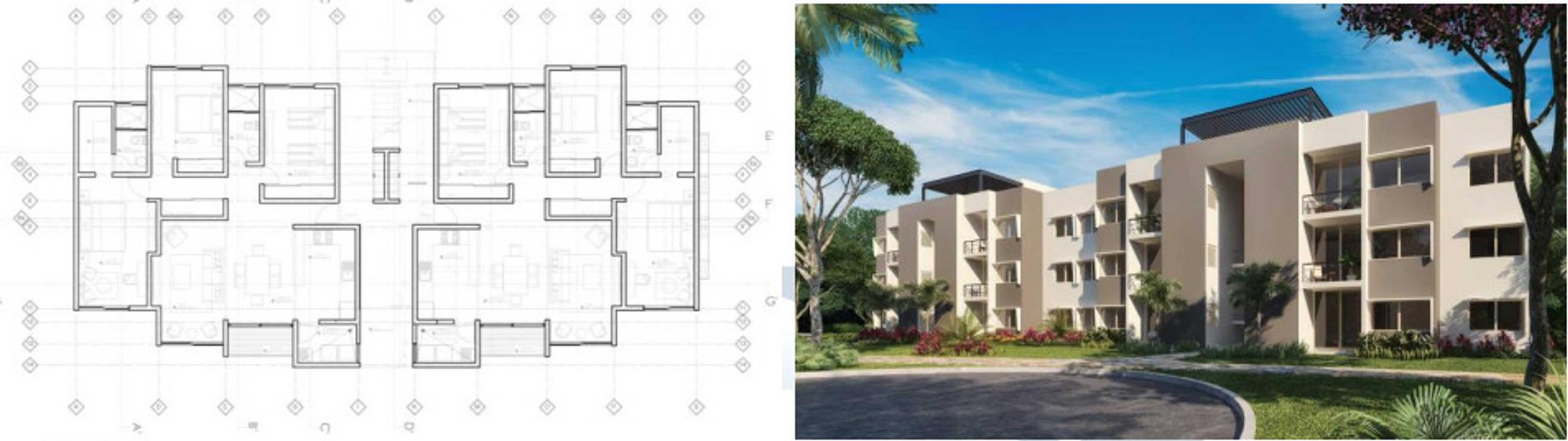 Mediterranean style house by Mattone Marketing Mediterranean