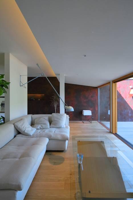 studio m+ by masato fujii Asian style media rooms