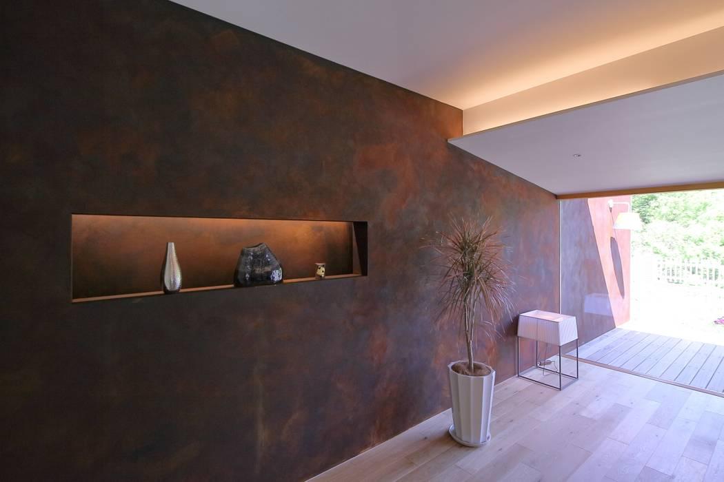 studio m+ by masato fujii Asian walls & floors