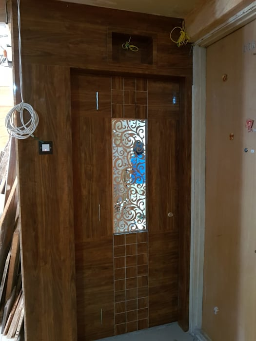 Security Door Design Modern style doors by Taathastu Space LLP Modern