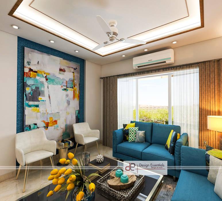 Living room Modern living room by Design Essentials Modern Plywood