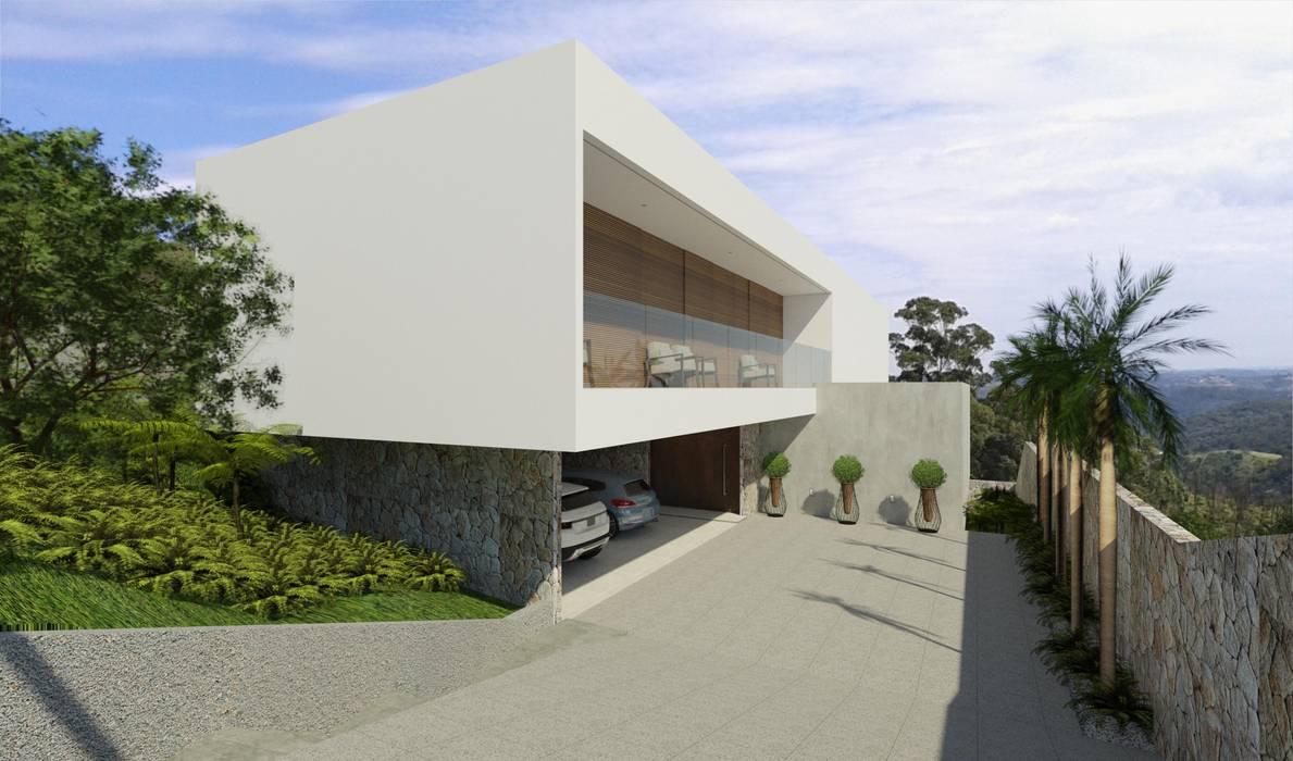 Casa Araucárias - 2019 Casas modernas por Studio Kriefer Moderno