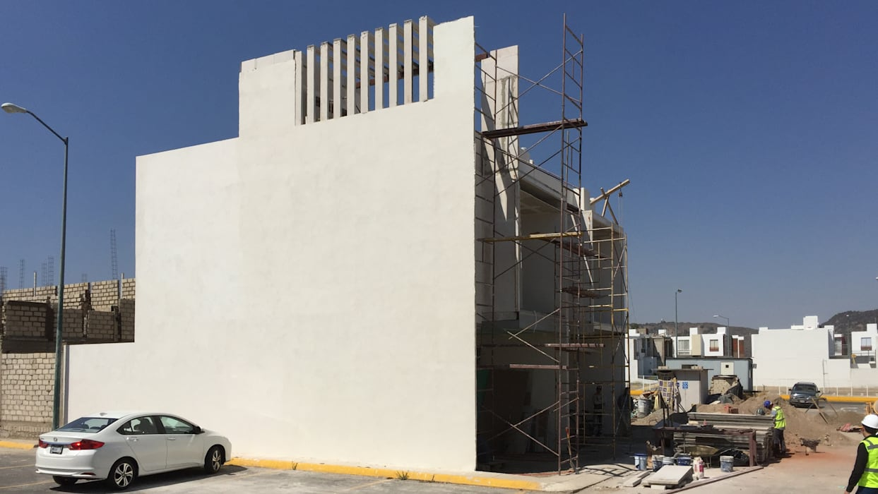 FORMA de Arqcubo Arquitectos Moderno Concreto
