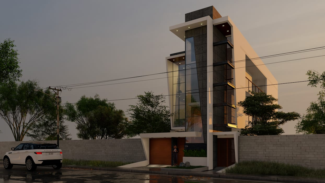 Case moderne di ARQCIVIL Moderno