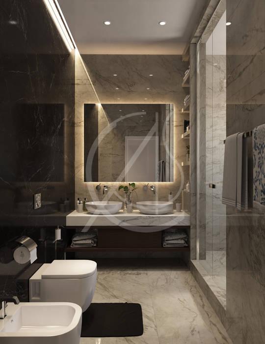 Luxury Neoclassical Palace Interior Design Kamar Mandi Klasik Oleh Comelite Architecture, Structure and Interior Design Klasik