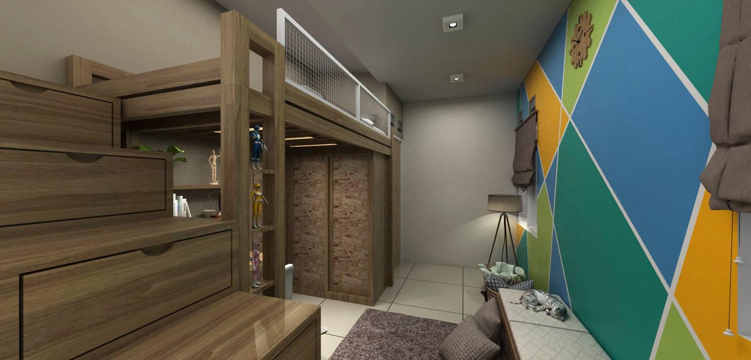 Bedroom set anak Oleh unimony.id Modern