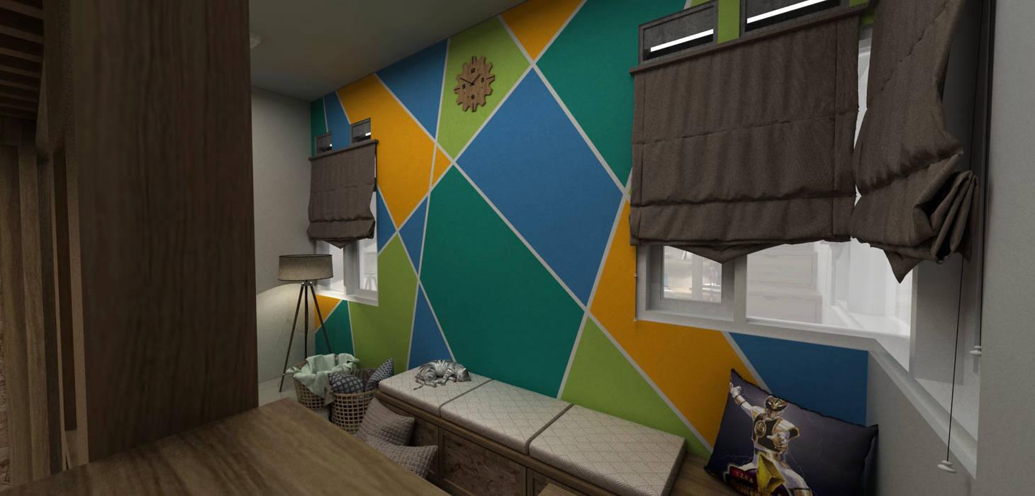Bedroom set warna cat Oleh unimony.id Modern