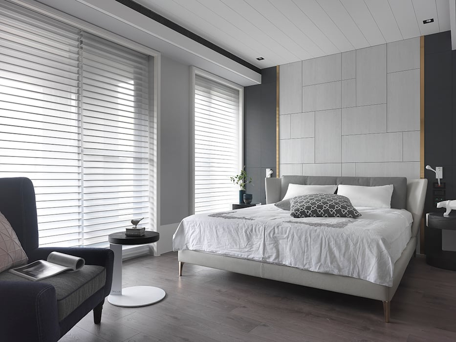 Modern style bedroom by 肯星室內設計 Modern