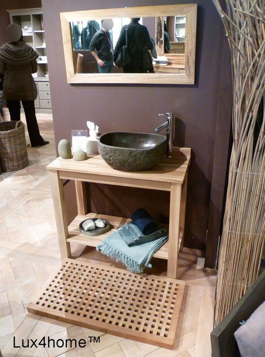 River Stone Sinks - Boulder Stone Washbasins Modern Bathroom by Lux4home Modern