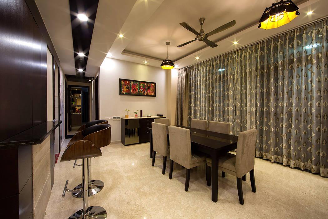INTERIORS AT IREO GRAND ARCH Minimalist dining room by Studio a+i Minimalist