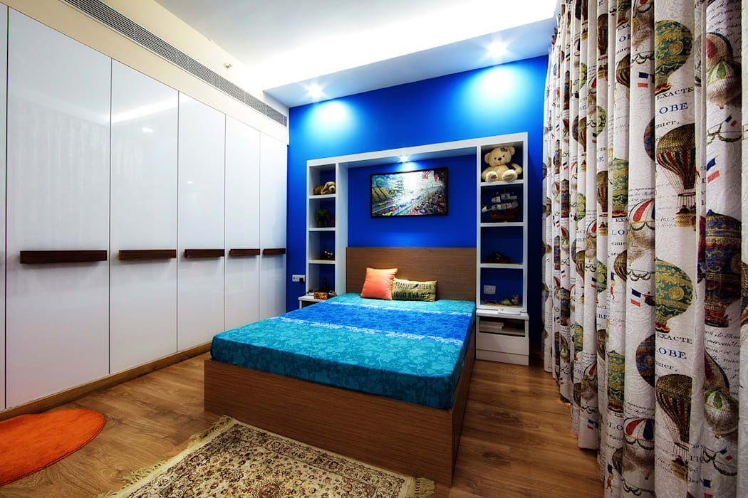 INTERIORS AT IREO GRAND ARCH Minimalist bedroom by Studio a+i Minimalist