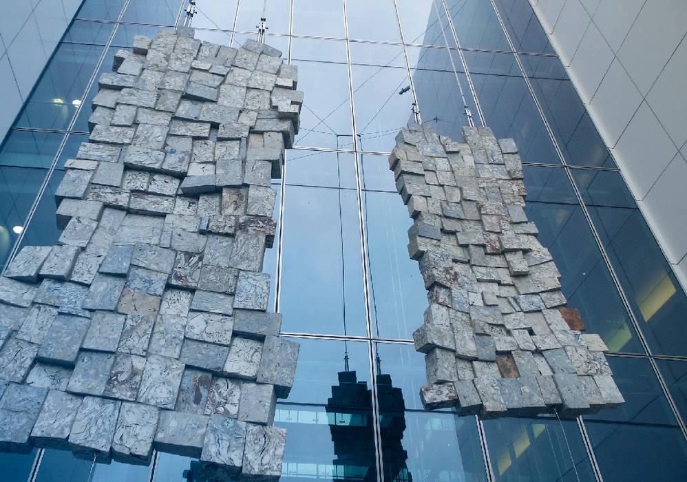 Colgante Estructural - Necker Necker Terrazas Metal Metálico/Plateado