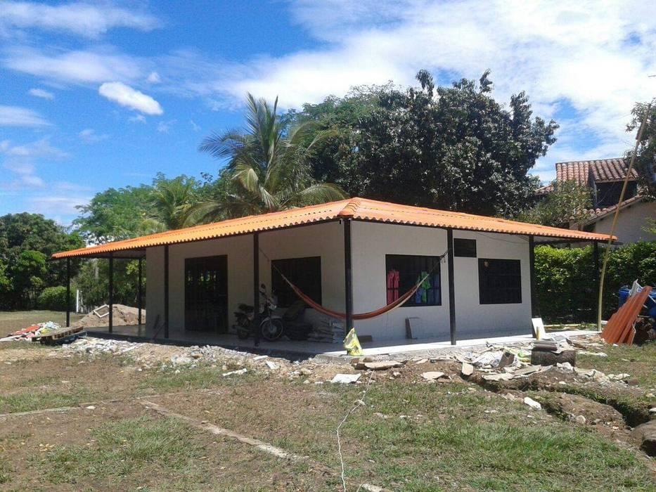 Casa Campestre Prefabricada en el Huila, Construimos Casas prefabricadas en Neiva y todo Colombia de Prefabricados Palermo Moderno