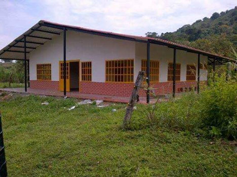 Casa Campestre Prefabricada en el Huila, Construimos Casas prefabricadas en Neiva y todo Colombia de Prefabricados Palermo Rural