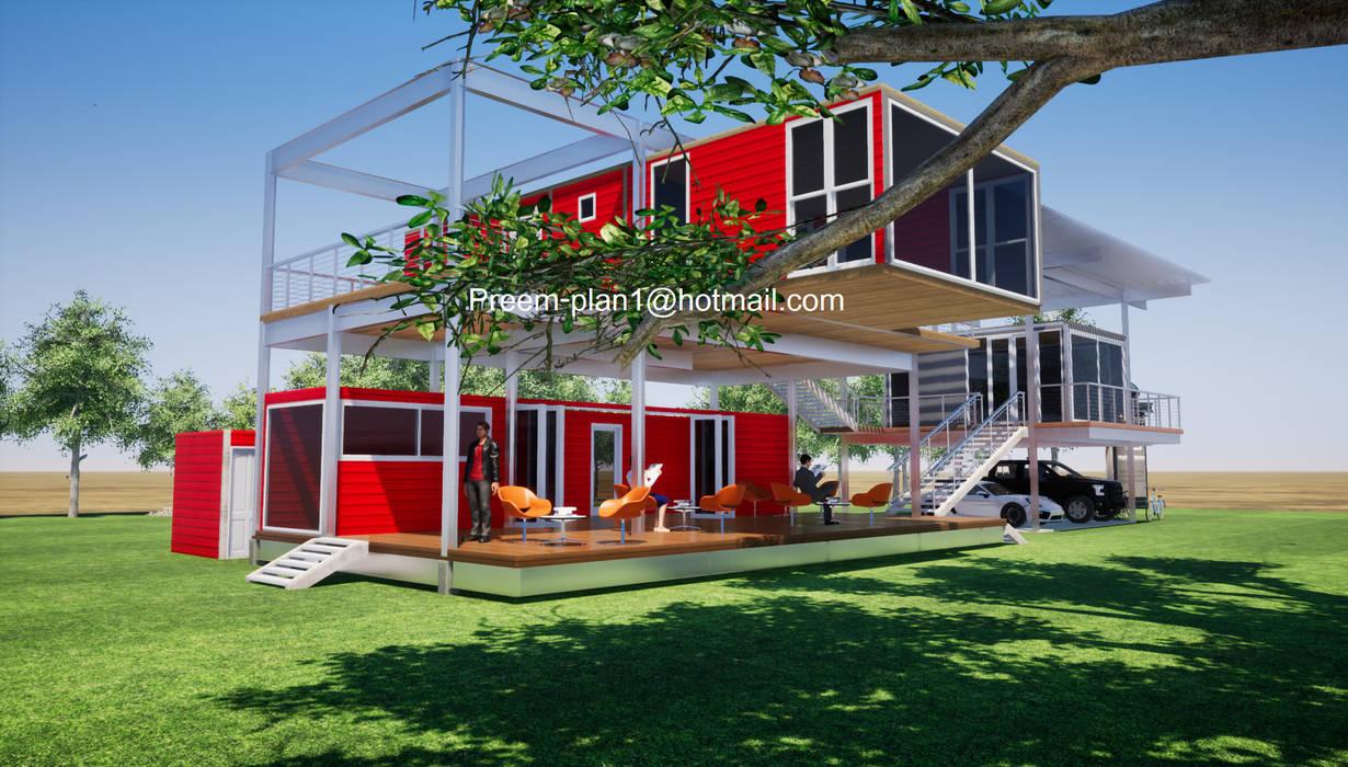 Coffee Shop โดย รับเขียนแบบบ้าน&ออกแบบบ้าน มินิมัล