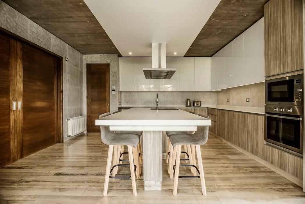 Casa Atenas Cocinas de estilo moderno de JPV Arquitecto Moderno