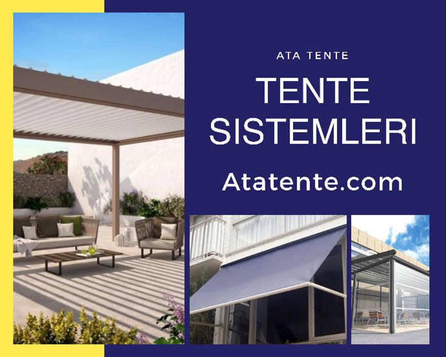 İzmir tente Asyatik Balkon, Veranda & Teras Ata Tente Asyatik Ahşap Ahşap rengi