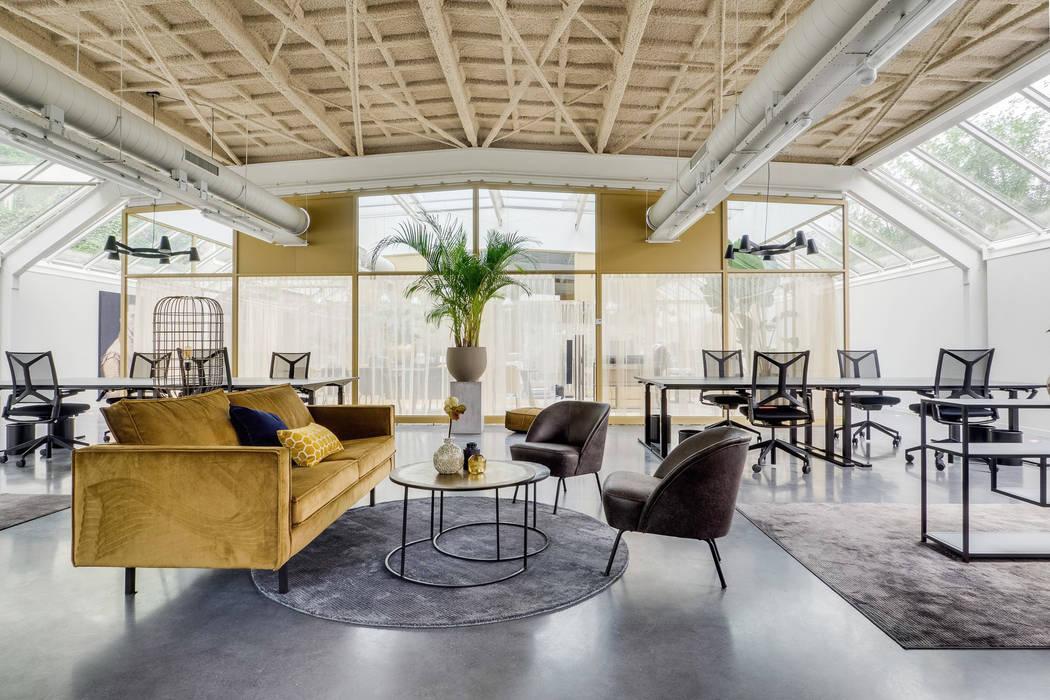 lounge en flexwerken RHAW architecture Industriële kantoorgebouwen
