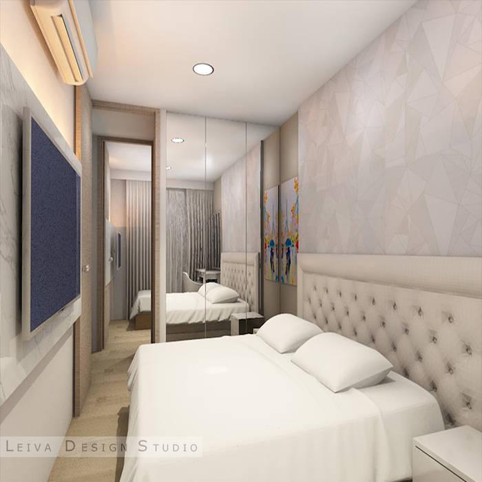 diseño de habitacion Livings de estilo moderno de Leiva Design Studio Moderno
